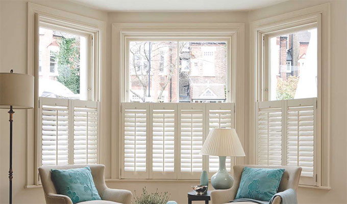 Plantation Shutters Available At Millennium Blinds