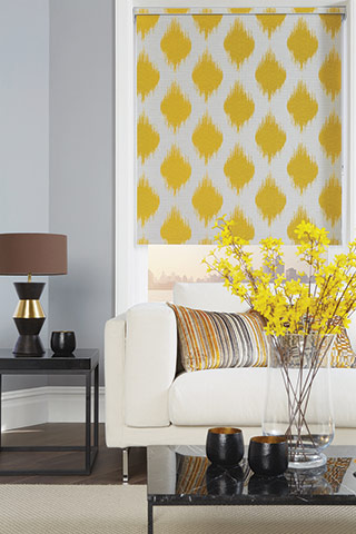 Roller Blinds Available At Millennium Blinds Whitchurch